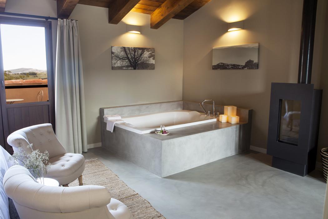 Hotel Masia Mas de Cebrián habitación