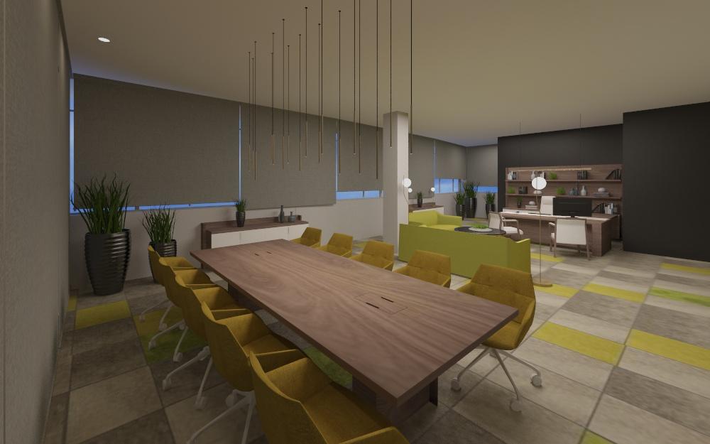 Diseño y amueblamiento oficinas Rafinity