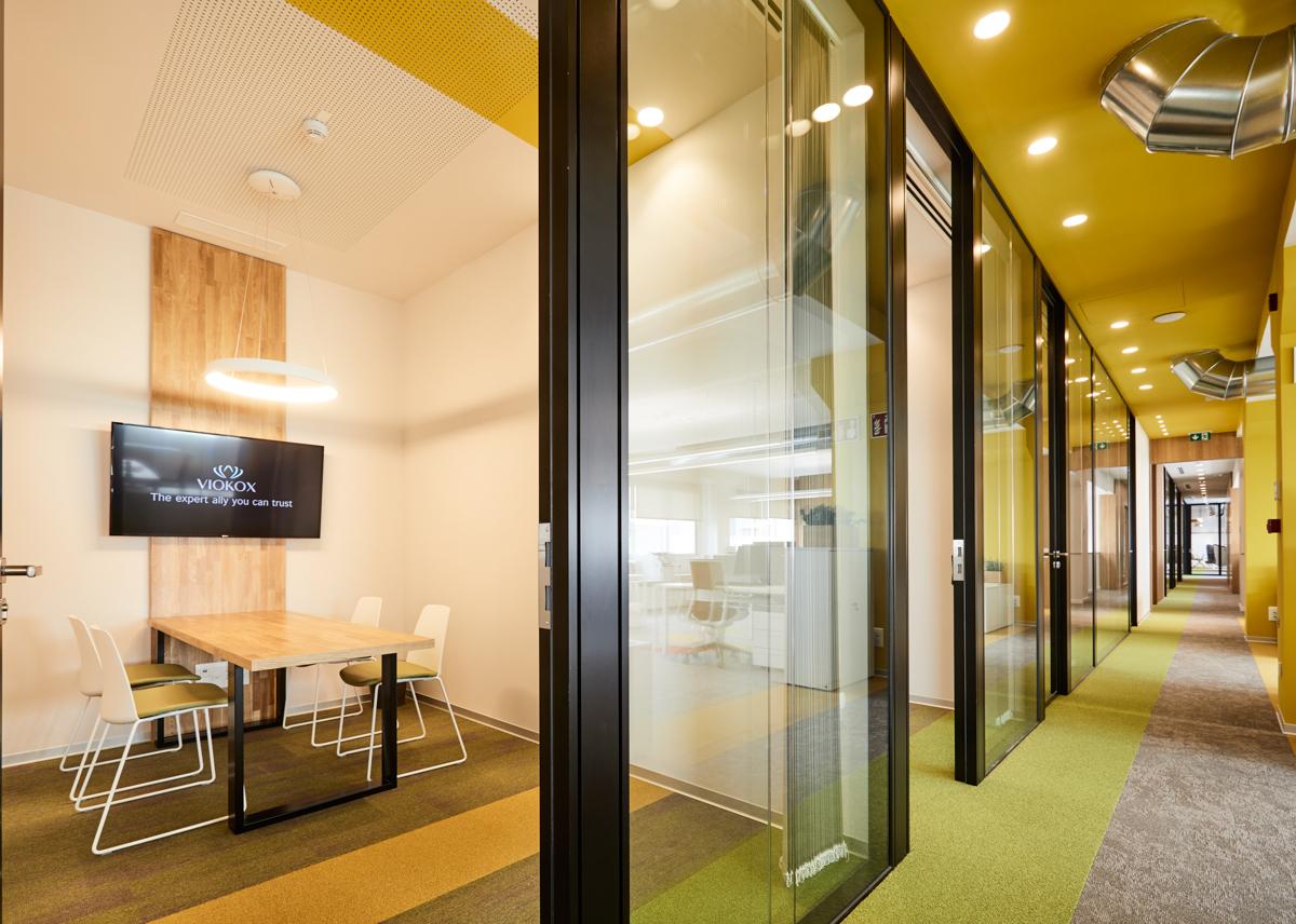 Amueblamiento oficinas Viokox